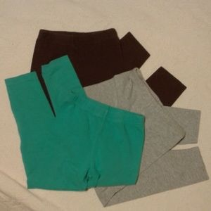 Carter's 3 Piece Bundle Pants / Leggins size 5 EUC